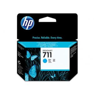 Cartucho tinta HP 711 cian 29ml