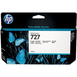 Cartucho tinta HP 727 negro fotográfico 300ml