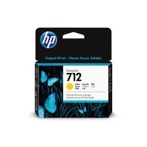 Cartucho de tinta HP DesignJet 712 amarillo